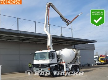 Betonpumpa Mercedes-Benz Actros 3240 8X4 Manual Big-Axle Euro 2 Pumpe+Mixer