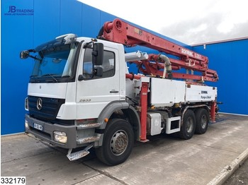 Betonpumpa Mercedes-Benz Axor 2633 6x4, Schwing 28 mtr, Remote, Steel Suspension