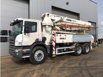 Betonpumpa Scania P380 6x4 with CIFA K2-X 760 hours only!