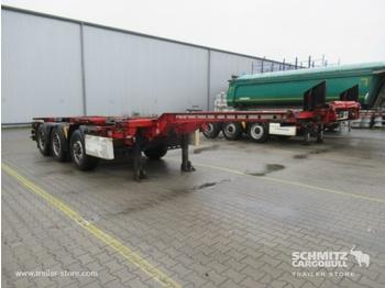 Félpótkocsi cserefelépítményes KRONE Auflieger Containerfahrgestell Slider