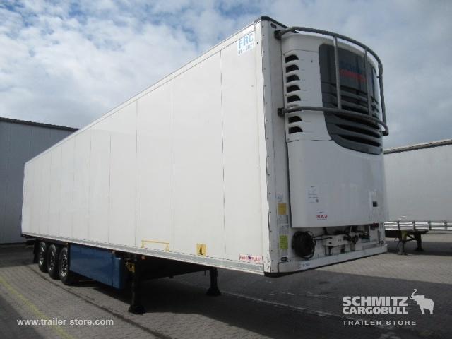 félpótkocsi dobozos SCHMITZ Auflieger Tiefkühler Fleischhang