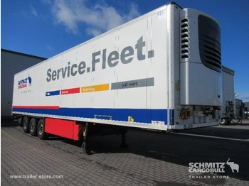 Félpótkocsi dobozos SCHMITZ Auflieger Tiefkühler Multitemp Double deck
