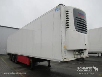 Félpótkocsi dobozos SCHMITZ Auflieger Tiefkühler Standard Double deck