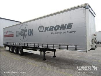 Félpótkocsi ponyvás KRONE Auflieger Curtainsider Coil