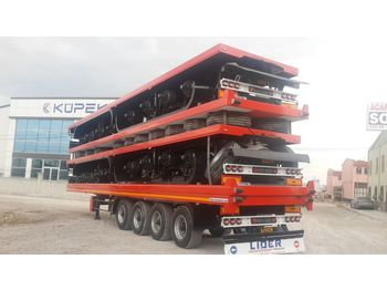 Platós félpótkocsi LIDER 2020 YEAR NEW TRAILER FOR SALE (MANUFACTURER COMPANY)