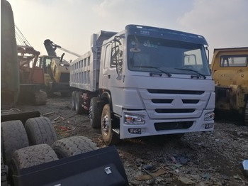Billenőplatós teherautó howo dump truck made in china 375